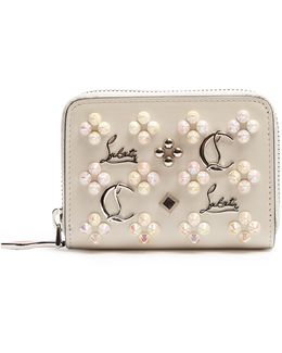 Panettone Embellished Leather Wallet