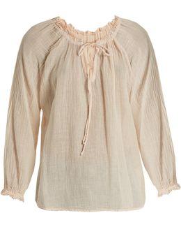 Sunflower Cotton-gauze Top