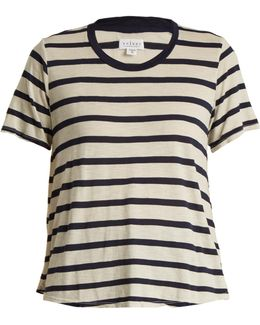 Tiana Striped Jersey Top