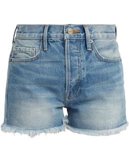 Le Original High-rise Denim Shorts