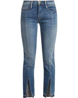 Le Nouveau Straight-leg Cropped Jeans