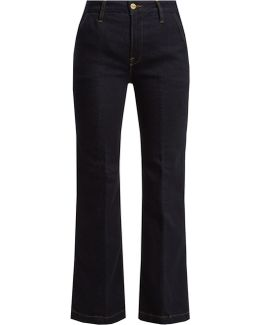 Le Ankle Flared Jeans