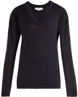 V-neck Wool Sweater