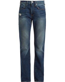 Le Oversized Straight-leg Jeans