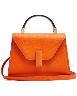 Iside Small Grained-leather Bag