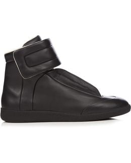 Future High-top Leather Trainers