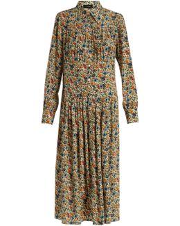 Josie Floral-print Midi Dress
