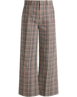 Ferrandi Prince Of Wales-checked Trousers
