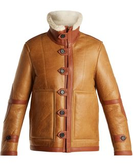 Witham Reversible Leather And Shearling Jacket