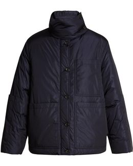 Douda Patch-pocket Padded Coat