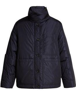 Douda Patch-pocket Padded Coat