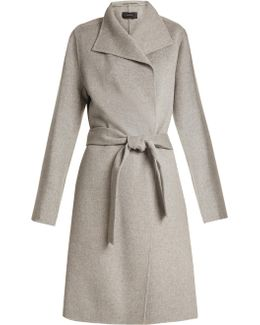 Lima Long Wool And Cashmere-blend Coat