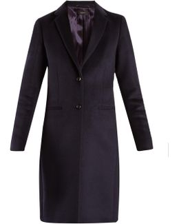 Martin Single-breasted Wool-blend Coat