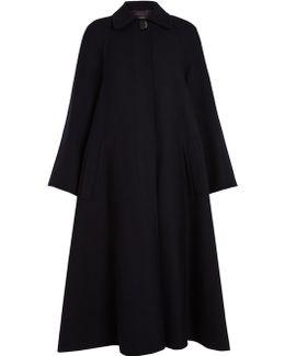 Mercer Single-breasted Wool Coat