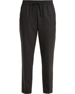 Lou Lou Mid-rise Tapered-leg Trousers