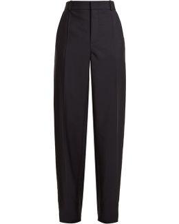 Ferdy Wide-leg Wool-blend Trousers