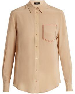 Garcon Silk Crepe De Chine Shirt