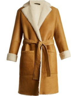 Askland Reversible Shearling Coat