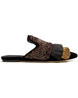 Proust Velvet Slipper Shoes