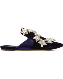 Mithra Velvet Slipper Shoes