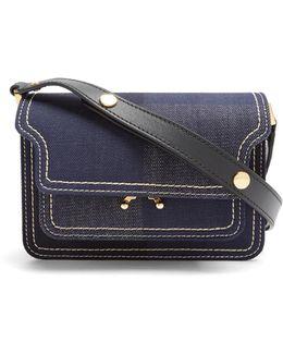 Trunk Mini Denim Cross-body Bag