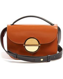 Tuk Tri-colour Leather Cross-body Bag