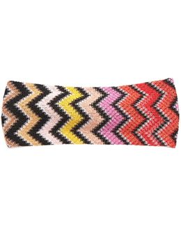 Zigzag Knit Headband