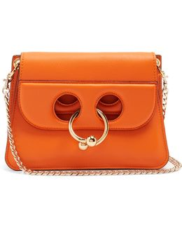 Pierce Mini Leather Cross-body Bag