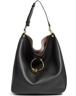 Pierce Large Leather Shoulder Bag