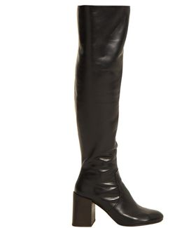 Sonny Leather Over-the-knee Boots