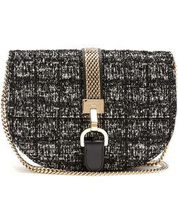 Lien Bouclé-tweed Leather Cross-body Bag