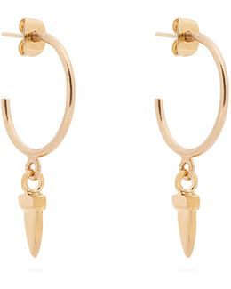 It's All Right Hoop Drop Earrings