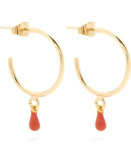 Perky Hoop-drop Earrings