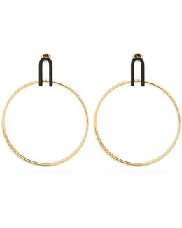 Strong Double-hoop Earrings