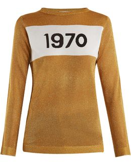 1970 Metallic Sweater
