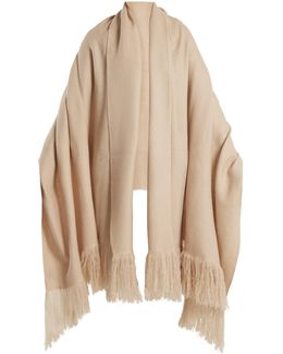 Cashmere-knit Scarf