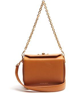 Box 19 Leather Cross-body Bag
