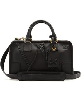 Amazona Small Laced-leather Bag
