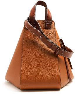 Hammock Large Grained-leather Tote