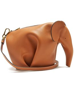 Elephant Leather Shoulder Bag