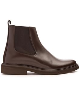 Felicie Leather Ankle Boots