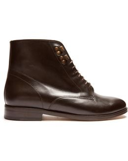 Frances Leather Ankle Boots