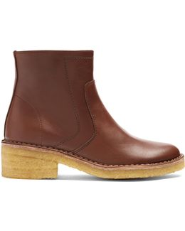Armelle Leather Ankle Boots