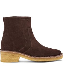 Armelle Suede Ankle Boots