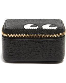 Eyes Small Grained-leather Keepsake Box