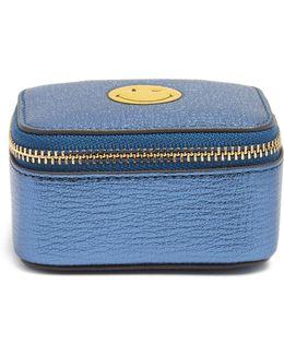 Wink Small Grained-leather Keepsake Box