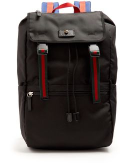 Technical-canvas Backpack