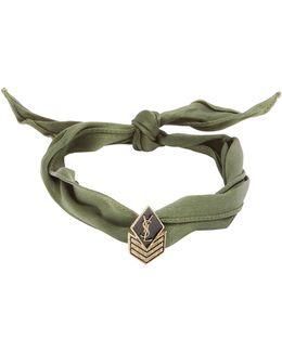 Wraparound Silk Bracelet