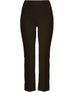 Goswell Kick-flare Crepe Trousers
