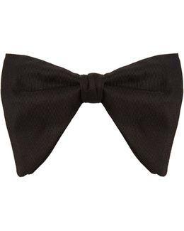 Oversized Silk Bow Tie